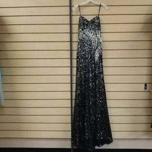 Dresses & Skirts - Black and sequined formal dress/evening gown.